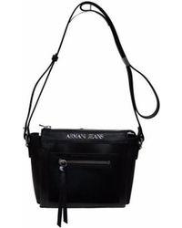Armani Jeans - ARMANI - Sac Bandouliere Noir - Femme femmes Sac Bandouliere  en Noir - 03cf180eb6f