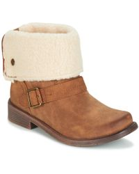 Roxy - Andres J Boot Tan Women's Mid Boots In Brown - Lyst