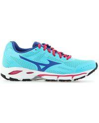 8ec490968e75 Mizuno - Wave Resolute 2 W J1gf141125 Women's Shoes (trainers) In Blue -  Lyst