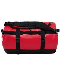 The North Face - Base Camp Duffle Small Women's Travel Bag In Red - Lyst