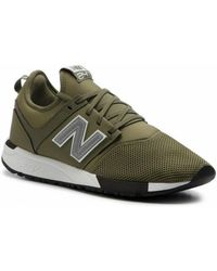 reputable site a24be 10a72 New Balance Ml574gpd Men's Shoes (trainers) In Green in ...
