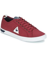 Le Coq Sportif - Ares Cvs Men's Shoes (trainers) In Red - Lyst