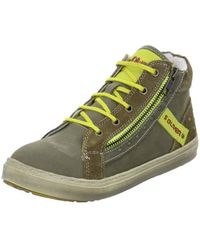 S.oliver - Kinder Women's Shoes (high-top Trainers) In Green - Lyst