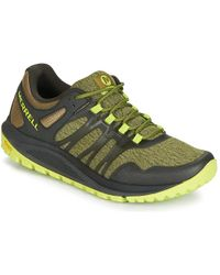 Merrell - Nova Men's Sports Trainers (shoes) In Green - Lyst