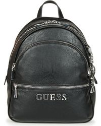 Guess - Manhattan Backpack Women's Backpack In Black - Lyst