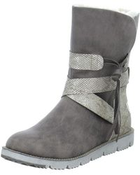 S.oliver - 552648129347 Women's Snow Boots In Brown - Lyst