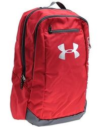 Under Armour - Hustle Backpack Women's Backpack In Red - Lyst