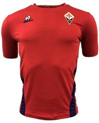 Le Coq Sportif - 2018-2019 Fiorentina Third Football Shirt Women's T Shirt In Red - Lyst