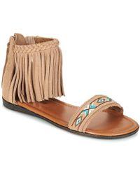 Minnetonka - Morocco Women's Sandals In Beige - Lyst