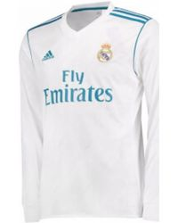 Adidas 2017-18 Real Madrid Long Sleeve Home Shirt (pepe 3) Men s In ... 86e7e4fec