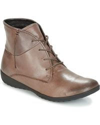 Josef Seibel - Naly 10 Women's Mid Boots In Brown - Lyst