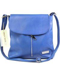 Toscanio - 1074 Women's Shoulder Bag In Blue - Lyst