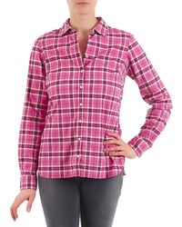 Tommy Hilfiger - Georgie Women's Shirt In Pink - Lyst