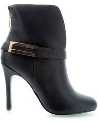 Roccobarocco - Forever Rbsc0vx03 Women's Low Ankle Boots In Black - Lyst