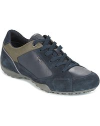 Geox | Uomo Snake Men's Shoes (trainers) In Blue | Lyst