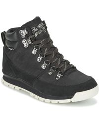 The North Face - Back To Berkeley Redux W Women's Mid Boots In Black - Lyst