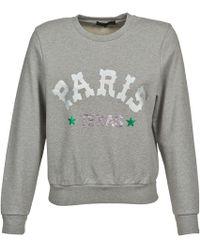 American Retro - Mirko Women's Sweatshirt In Grey - Lyst