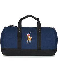 Polo Ralph Lauren - PP DUFFLE-DUFFLE-MEDIUM hommes Sac de voyage en bleu 2e2a2b8d012
