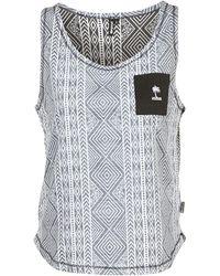Rip Curl - Hot Sands Tank Women's Vest Top In Black - Lyst