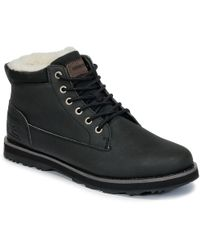 Quiksilver - Mission V M Boot Sbkm Men's Mid Boots In Black - Lyst