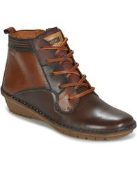 Pikolinos - Wabana W7d Women's Mid Boots In Brown - Lyst