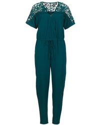 Betty London - Ikarile Women's Jumpsuit In Green - Lyst