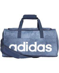 27993e674f adidas - Sac en toile Linear Performance Petit format femmes Sac de sport  en bleu -