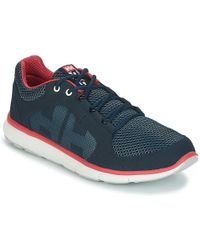 Helly Hansen | Ahiga V3 Hydropower Women's Outdoor Shoes In Blue | Lyst
