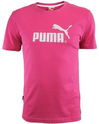 c667907832b Puma Large No1 Logo Tee Men's T Shirt In White in White for Men - Lyst