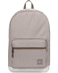 d98497234517 Herschel Supply Co. - Supply Co. Light Khaki Crosshatch Pop Quiz Backpack  Men s Backpack