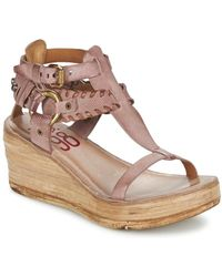 A.S.98 - Noa Women's Sandals In Pink - Lyst
