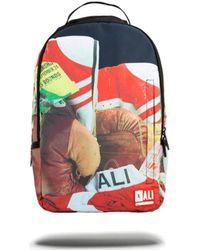 Sprayground - Muhammed Ali Stuffed Backpack - Multi Men's Backpack In Black - Lyst