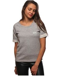 L'affaire De Rufus - Printed Crew Neck Sweatshirt 100% Organic Cotton Lisette Grey W Women's T Shirt In Grey - Lyst