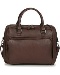 Casual Attitude - Adiana Men's Briefcase In Brown - Lyst