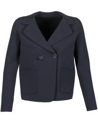 Marc O'polo - Ontarita Women's Jacket In Blue - Lyst