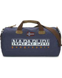 Napapijri - Bering Men's Travel Bag In Blue - Lyst