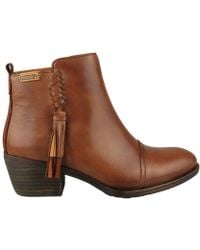 Pikolinos - Baqueira Women's Low Ankle Boots In Brown - Lyst