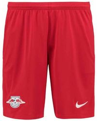 Nike - 2017-2018 Bull Leipzig Home Shorts Women's Shorts In Red - Lyst