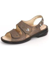 Finn Comfort - Milos Bronzo Victory Women's Sandals In Multicolour - Lyst