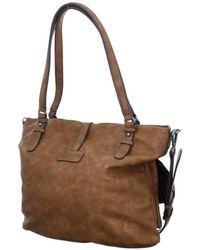 Tamaris - Bernadette Shopping Bag Men's Shoulder Bag In Brown - Lyst