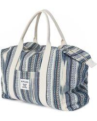Rip Curl - Beach Bazaar Weekender Bag Ltrzz3 Women's Handbags In Blue - Lyst