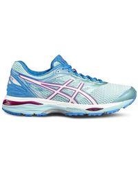 Asics - Gel Cumulus 18 Women's Running Trainers In Blue - Lyst