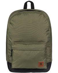 DC Shoes - Mochila Backstack Fabric 18.5l - Mochila Mediana Women's Backpack In Green - Lyst