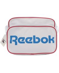 Reebok - Cl Roy Shoulder Boys's Children's Hip Bag In White - Lyst