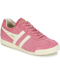 Gola - Harrier Women's Shoes (trainers) In Pink - Lyst