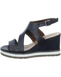 Tamaris - 128031 Women's Sandals In Brown - Lyst