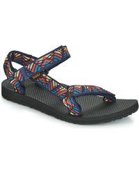 79fcea5abba2 Teva - Original Universal Women s Sandals In Multicolour - Lyst