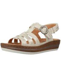 Mephisto - Lizanne Brazil Women's Sandals In Silver - Lyst