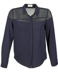 Betty London - Evinile Women's Shirt In Blue - Lyst