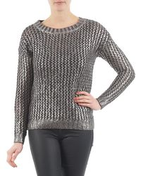 Esprit - Prog Foilsweater Women's Jumper In Grey - Lyst